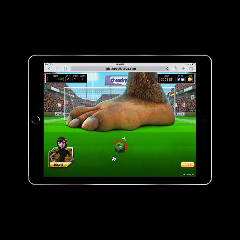 Hotel Transylvania 2 - Bigfoot Soccer