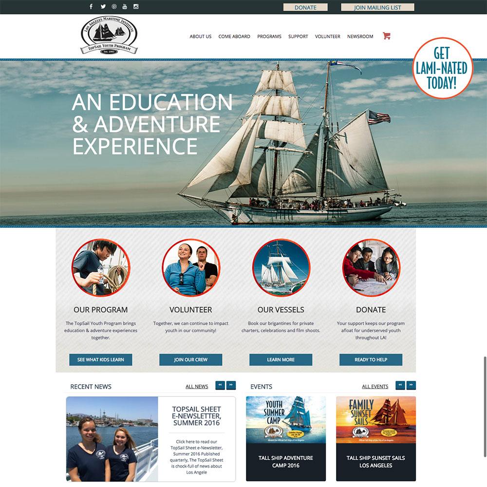 Los Angeles Maritime Institute Site