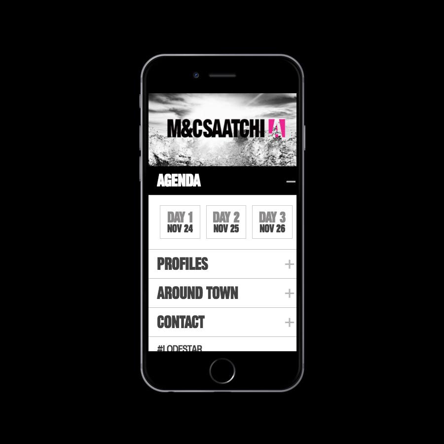 M&C Saatchi Mobile Web